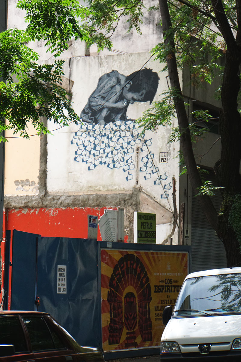 Likes Don't Feed - 2014 - Buenos Aires / Lapiz